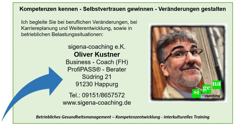 Coaching in Köln, Coaching in Nürnberg, Business-coaching, sigena-coaching